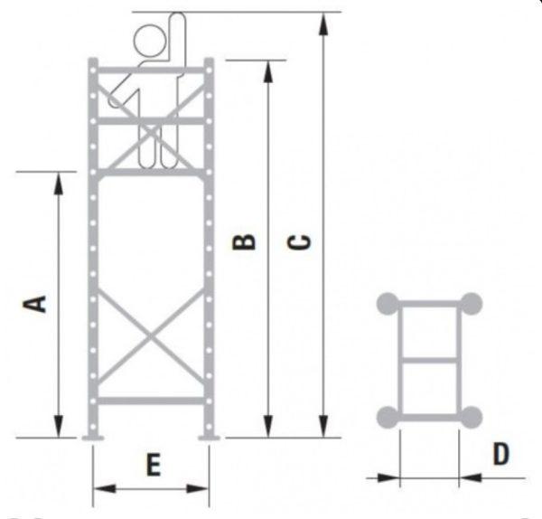 alve pojazdné lešenie hliníkové SAFE-T PRO