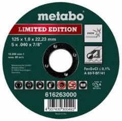 metabo rezný kotúč inox špeciálna edícia 125 x 1
