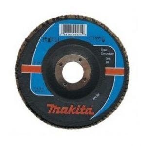 makita brúsny kotúč lamelový korund 125 40
