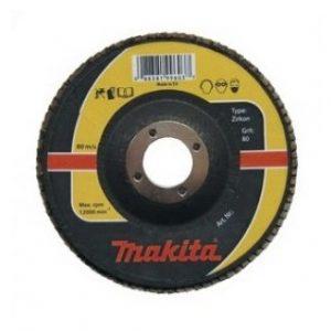 makita brúsny kotúč lamelový zirkón 125 40