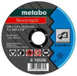 metabo novorapid 125