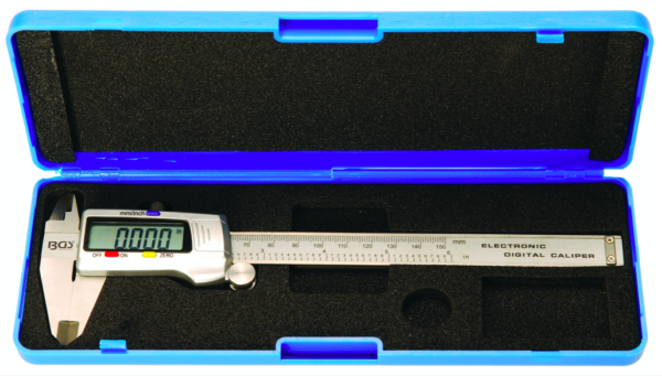bgs meradlo posuvné digitálne 150 mm