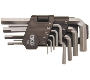 bgs kľúče imbusové krátke