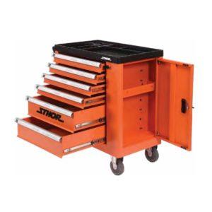 sthor dielenský vozík bez náradia, 6 zásuviek