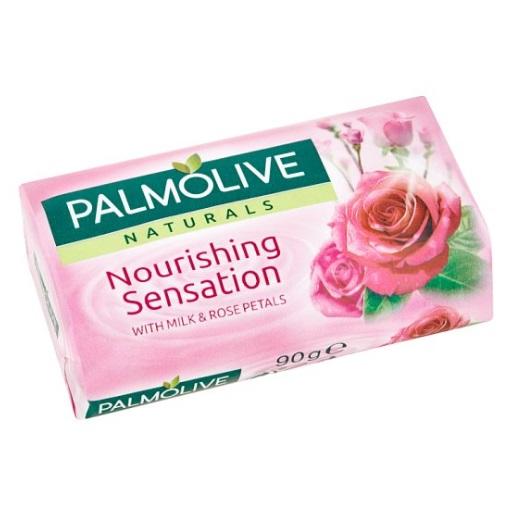 palmolive tuhé mydlo milk rose 90 g