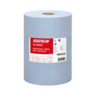 katrin papierové utierky classic xxl 2 190 m 500 útržkov modré 2 vrstvy