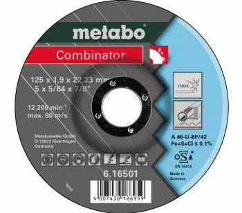 METABO rezný kotúč nerez/oceľ COMBINATOR