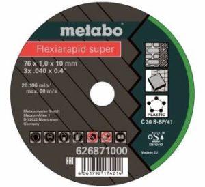 METABO rezný kotúč nerez/oceľ FLEXIARAPID