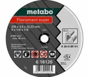 METABO rezný kotúč na hliník