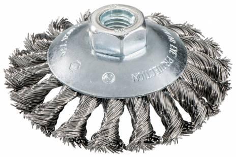 METABO guľatá kefa z oceľového drôtu