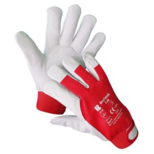 ban kombinované rukavice mechanik lux
