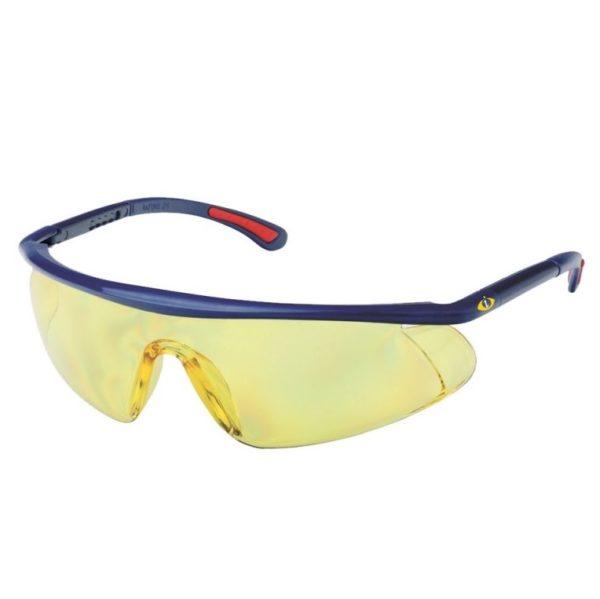 cerva ochranné pracovné okuliare barden žlté