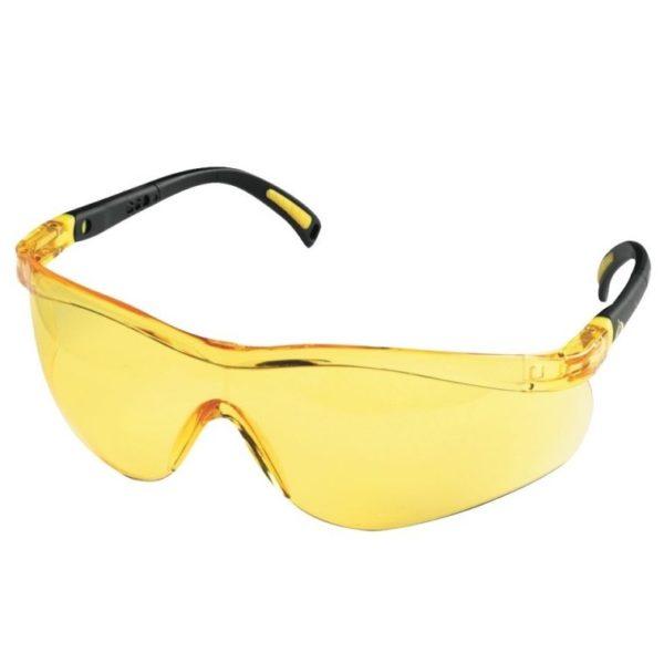 cerva ochranné pracovné okuliare spector fergus žlté