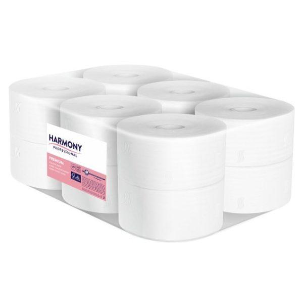 harmony toaletný papier premium mini jumbo 12 ks